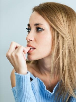 woman-biting-nails
