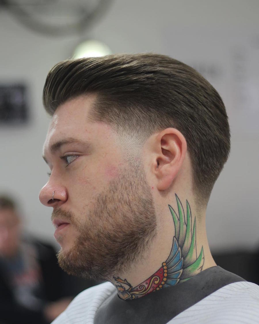 mozambeak_and-slicked-back-taper-fade