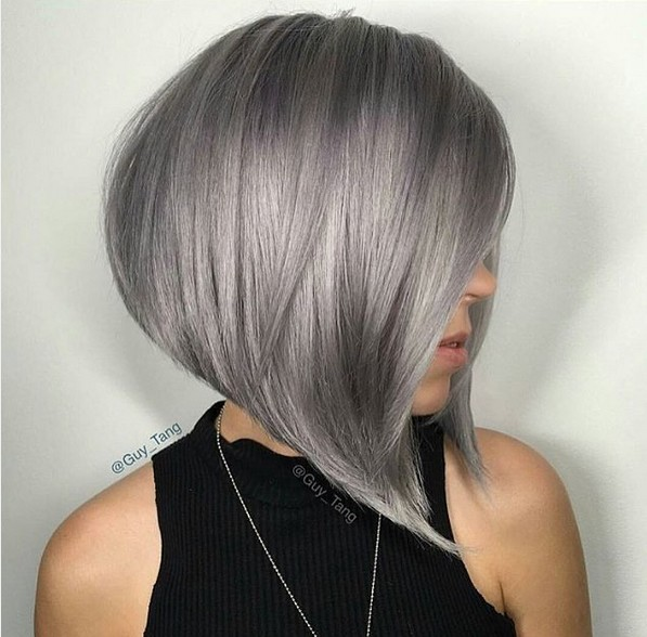 angled-a-line-bob-with-grey-hair-color