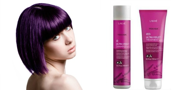 Želim ljubičastu boju kose, intenzivnu i postojanu!  Friz