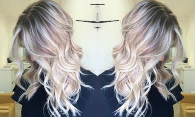siva boja kose