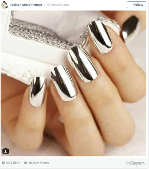 chrome-manicure