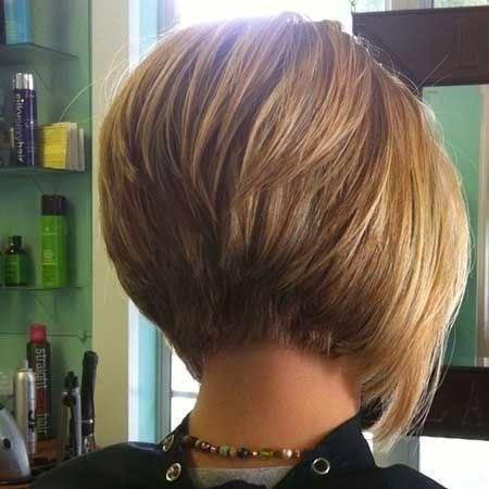 Galerija sjajnih frizura za kratku kosu: Asimetrične Bob frizure ...