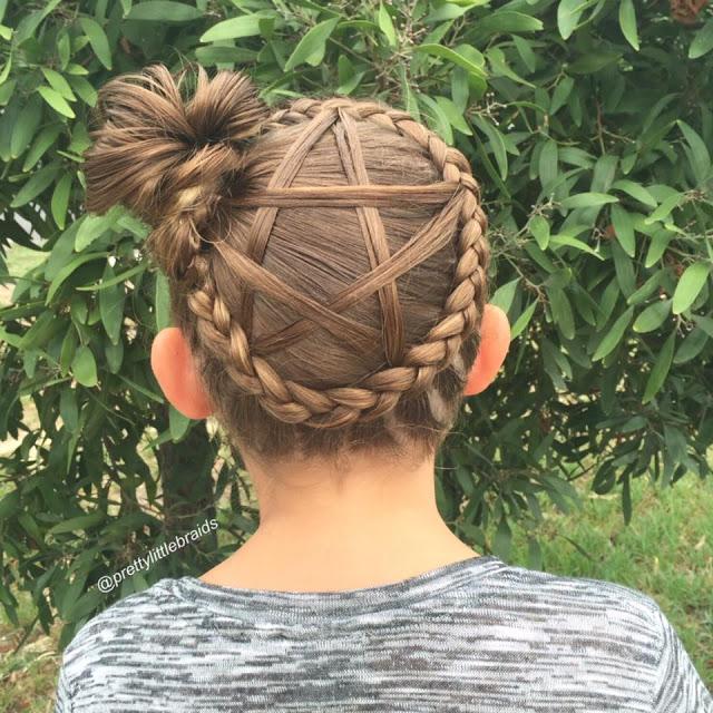 Praznične frizure za djevojčice (GALERIJA) | Friz