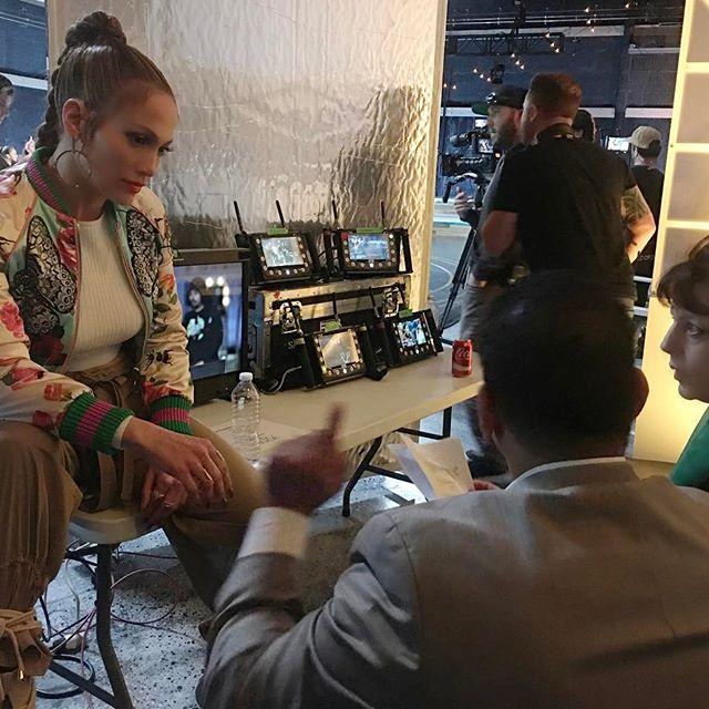 Jennifer Lopez frizura 2017