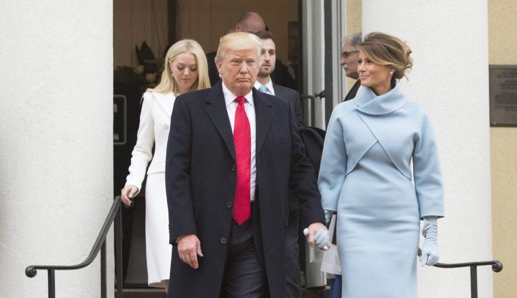 Melanija Trump frizura 2017