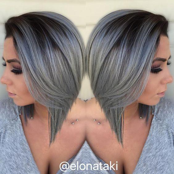 Silver ombre zenska frizura 2017 (12)