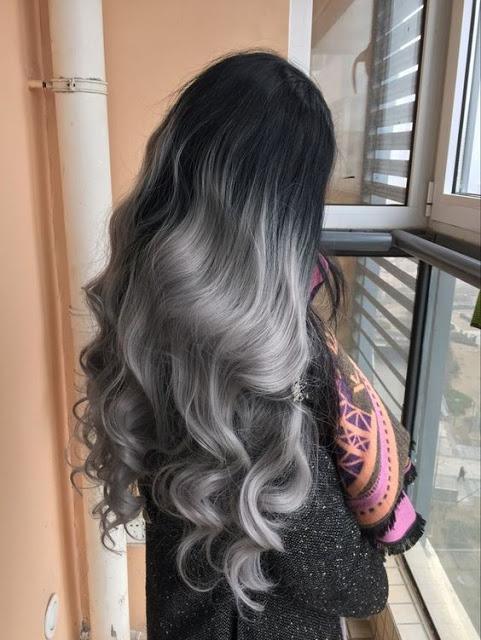 Silver ombre zenska frizura 2017 (4)