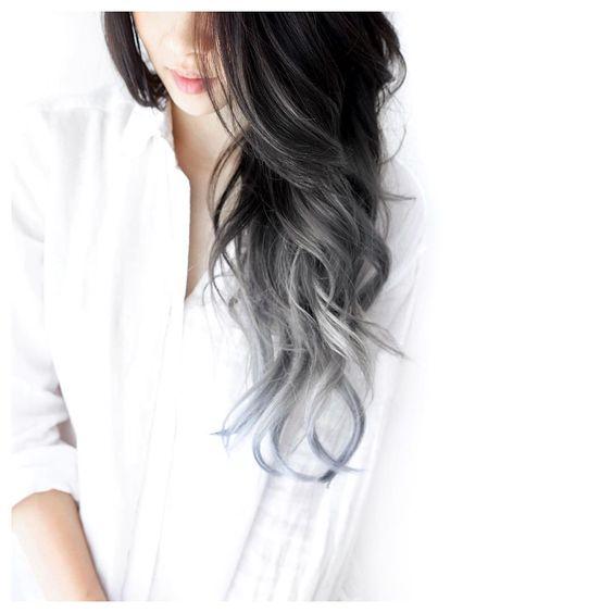 Silver ombre zenska frizura 2017 (5)