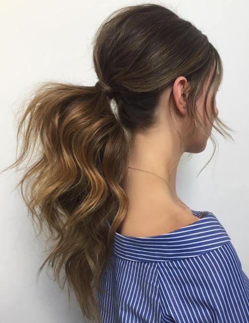 18 modernih ženskih frizura sa repom za 2017. godinu!   friz