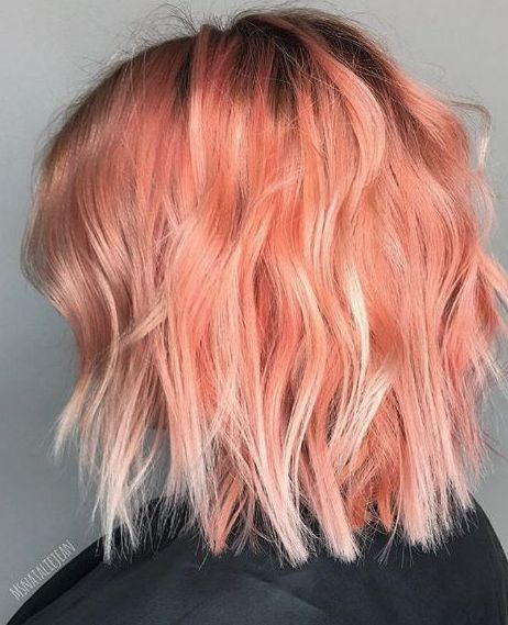 b9f33851f797823cb9376de24fa1d99b--peach-haircolor-peach-blonde-hair-ombre