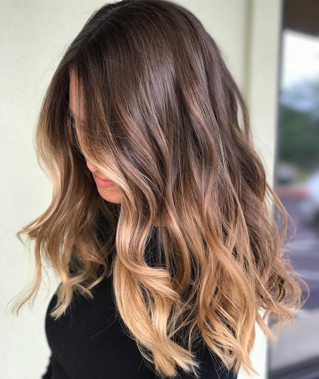 Svijetli pramenovi na smedjoj kosi (1)