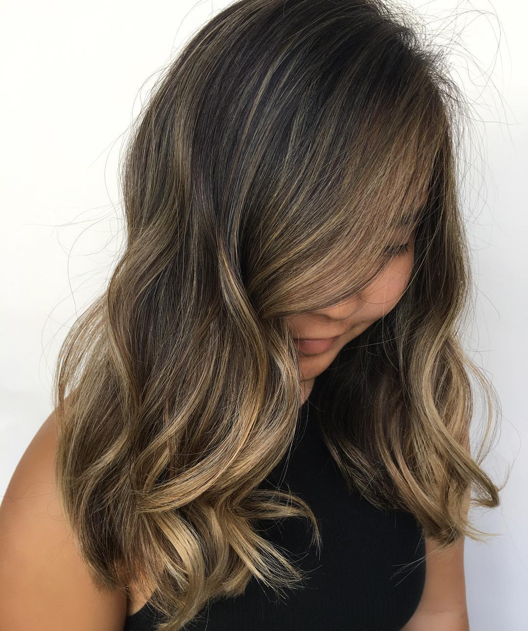 Svijetli pramenovi na smedjoj kosi (7)