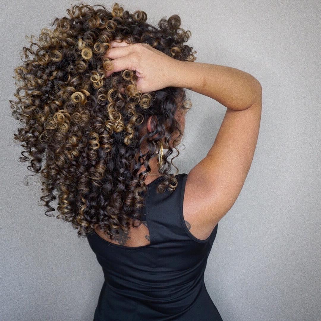Svijetli pramenovi na smedjoj kosi (8)