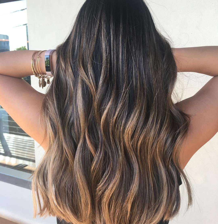 Svijetli pramenovi na smedjoj kosi (9)