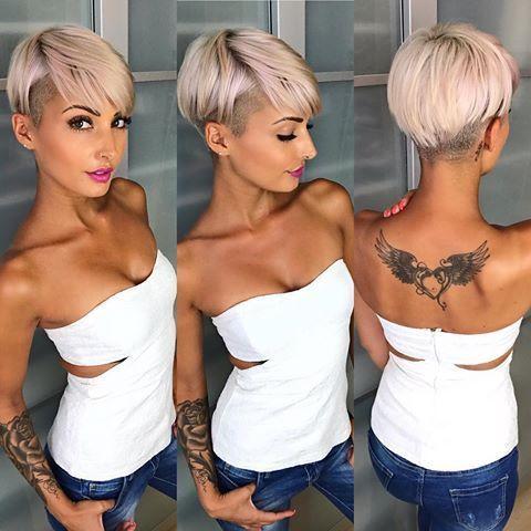 Kratke frizure Pixie (1)