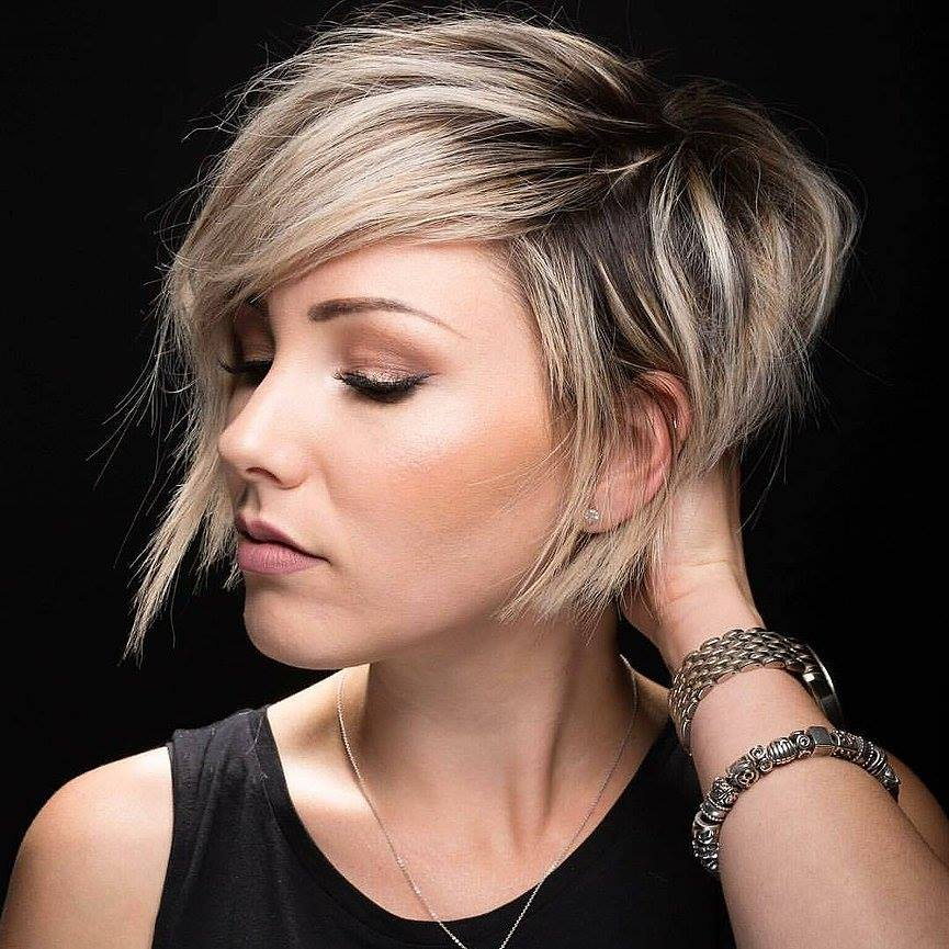 Kratke frizure Pixie (10)