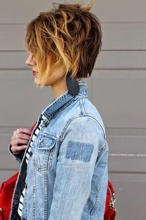 Kratke frizure Pixie (4)