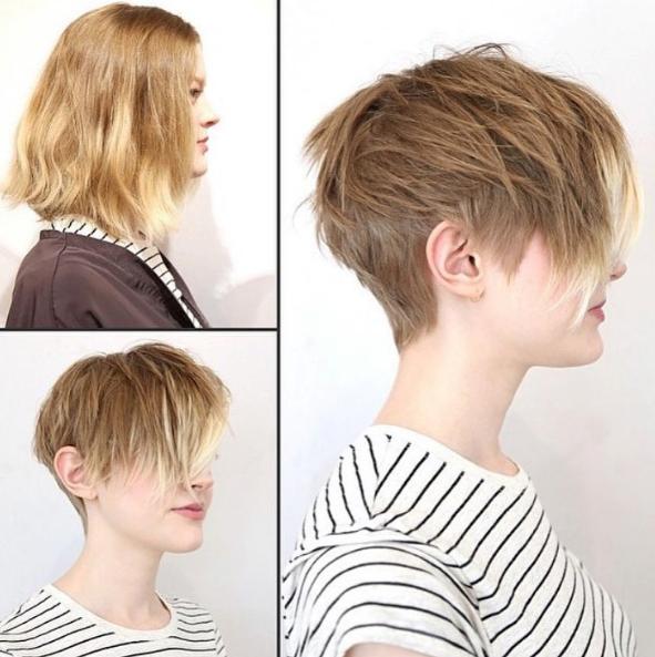 Kratke frizure Pixie (6)