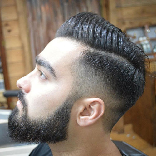 Comb-Over-High-Fade-Part-Beard