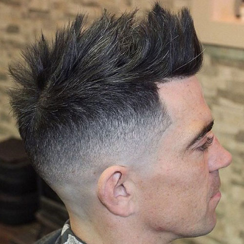 Faux-Hawk-High-Fade