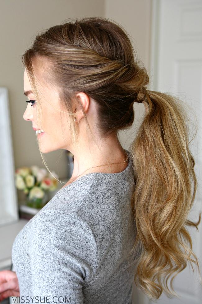 twisted-flip-ponytail
