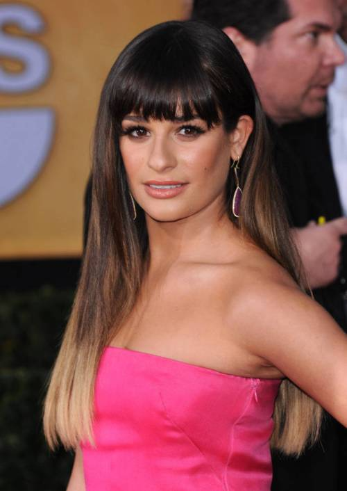 12-one-level-haircut-for-long-brown-hair-from-lea-michele