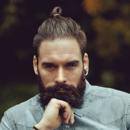 Top-Knot-Short-Sides-Beard