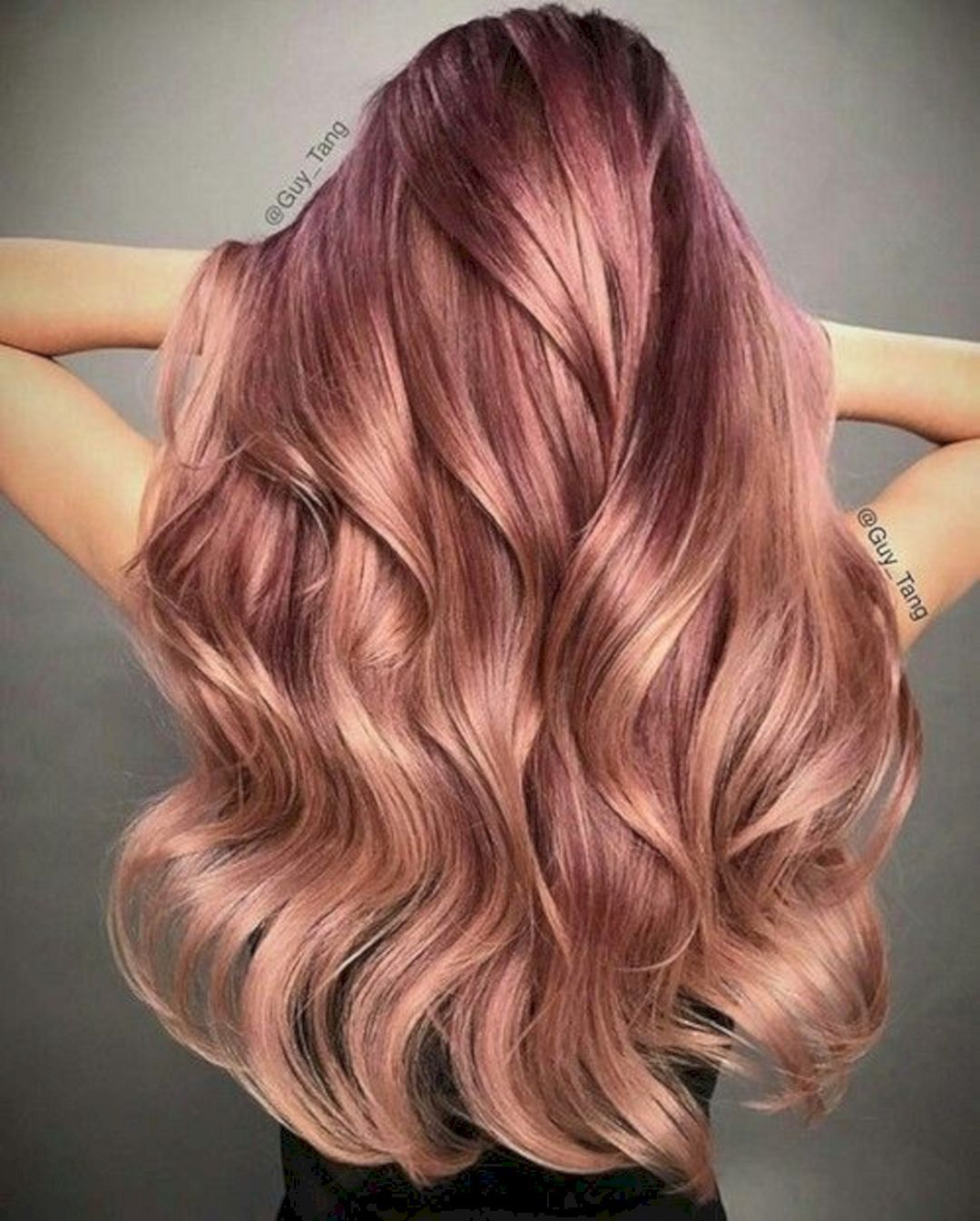 Rose-Gold-Ombre-Hair-Color