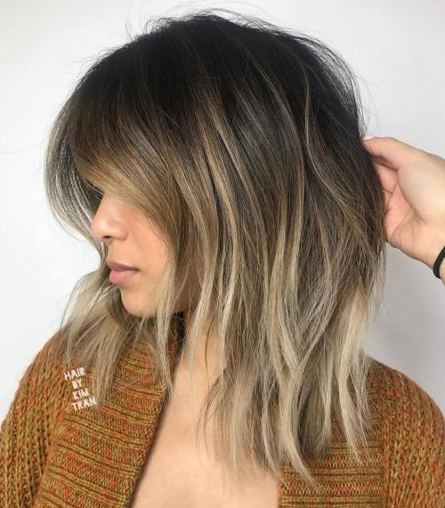 1-shaggy-lob-with-blonde-balayage