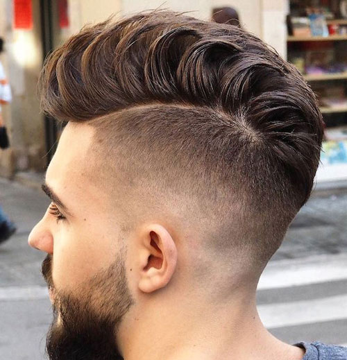 High-Fade-Loose-Pompadour