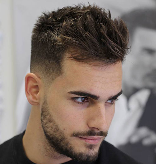 Short-Sides-with-Medium-Length-Hair-on-Top