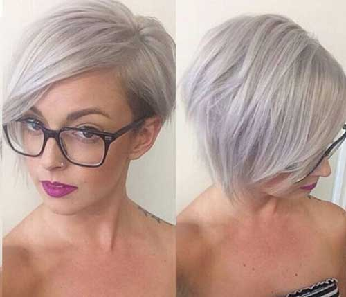 Short-Hairstyles-For-Gray-Hair