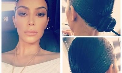 Kim Kardashian frizura 2017