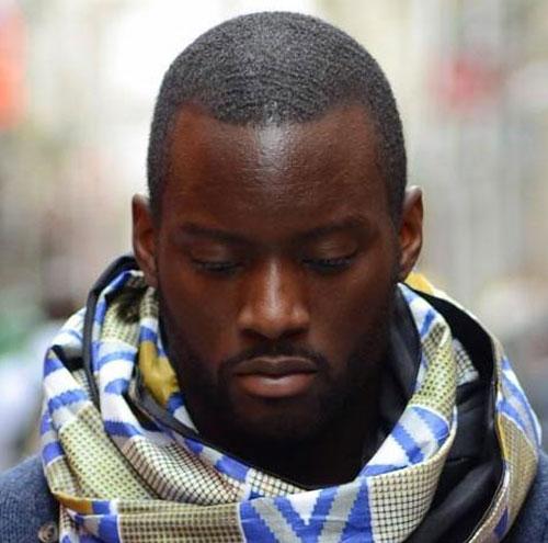 Black-Men-Haircuts-Simple-Buzz-with-Beard