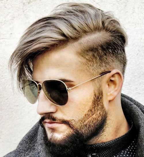Mid-Fade-with-Side-Part-and-Long-Fringe