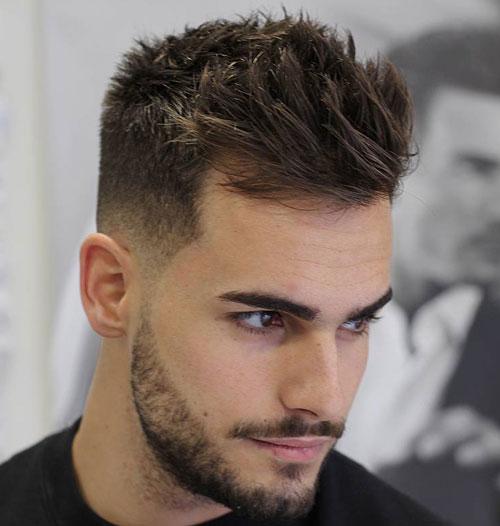 Short-Sides-with-Medium-Length-Hair-on-Top