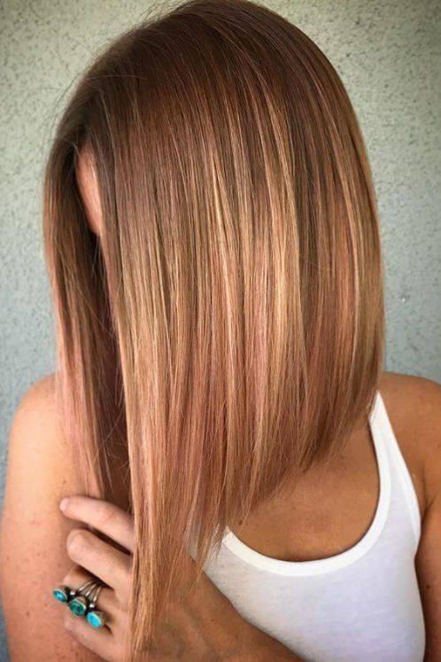 Moderne enske frizure za srednju i kratku duinu kose Friz