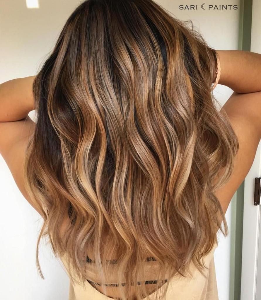 spiced gold hair