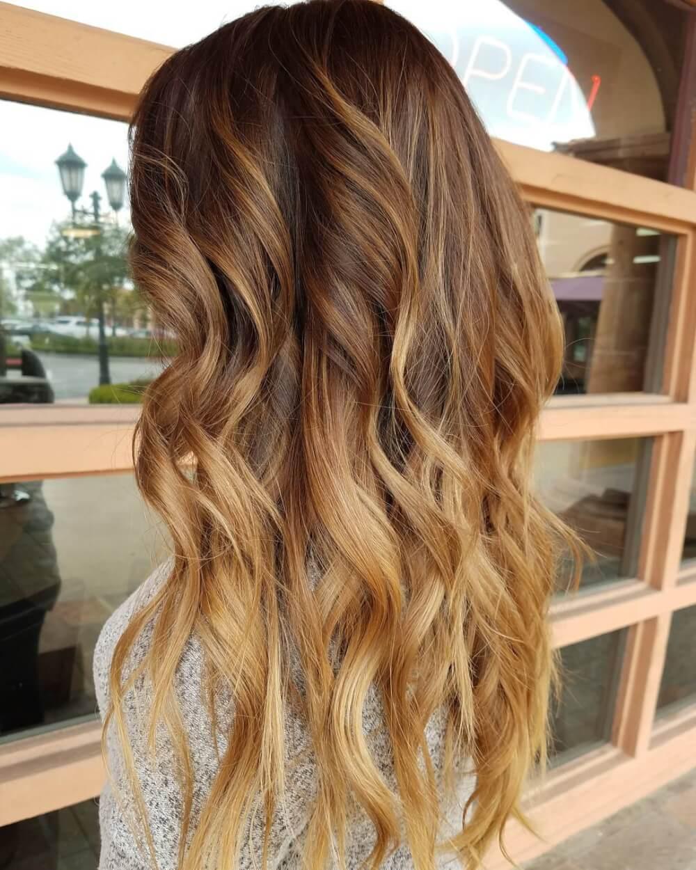 spiced gold hair7
